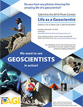 2016 Life as a Geoscientist Poster