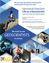 2017 Life as a Geoscientist Poster