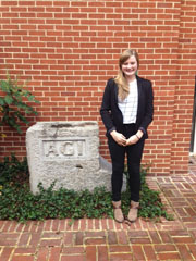 2015 AGI/AAPG Fall Intern, Danielle Woodring