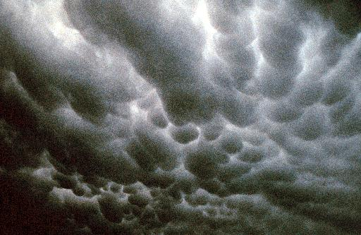 Mammatus Clouds (Courtesy National Oceanic and Atmospheric Administration)