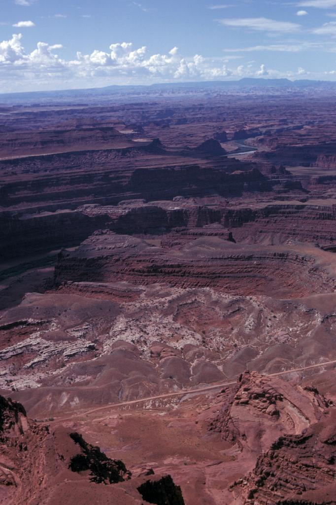 Rock layering in Canyonlands