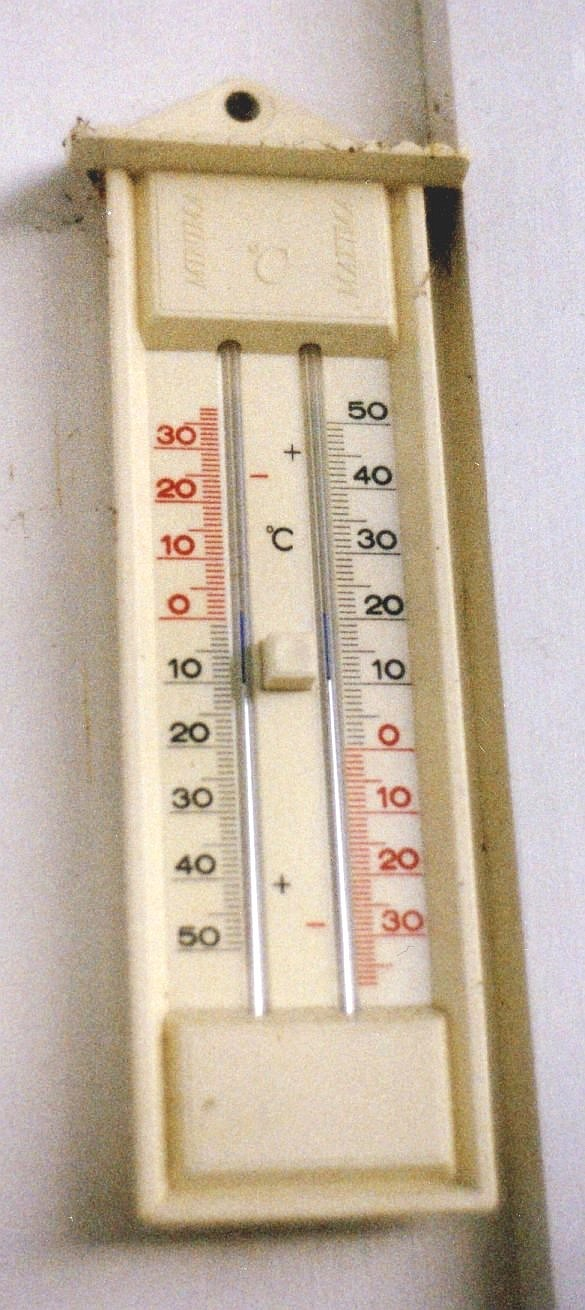 exterior thermometer