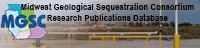 Midwest Geological Sequestration Consortium Research Publications Database