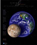 Earth and Mars poster