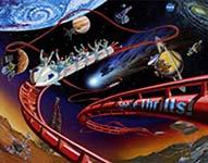 Frontier Space Thrills poster