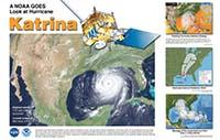 GOES Hurricane Katrina poster