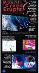 Mount Oyama Erupts poster