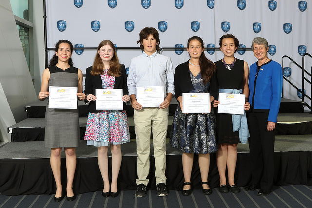 2018 recipients of the AGI Special Award for Outstanding Performance in Earth Science