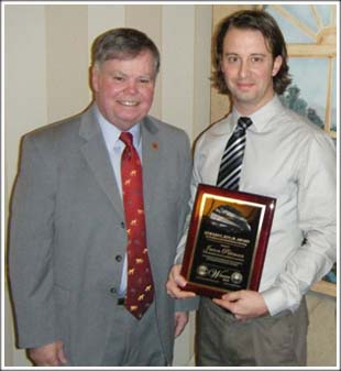 2010 Ed Roy Award Winner