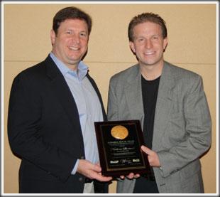 2013 Ed Roy Award winner and Geoff Camphire