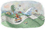 EarthComm Cartoon from books