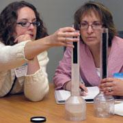 BP 2009 Workshop teachers in an activity