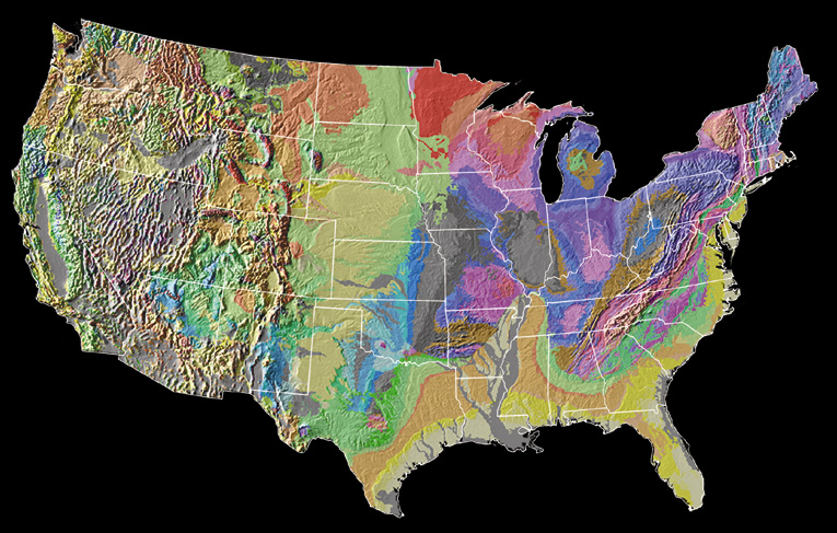 Meeting Challenges With Geologic Maps American Geosciences Institute - Us karst map usgs