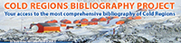 Cold Regions Bibliography Project