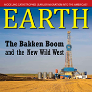 EARTH magazine cover