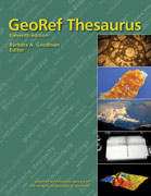 GeoRef Thesaurus Cover