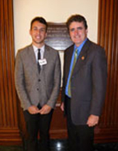 John Kemper with Representative Michael Fitzpatrick.