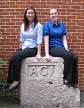 Stephanie Praus (left) and Rachel Potter (right).