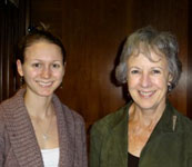 Erin Camp with Anne Castle, Assistant Secretary for Water and Science, Department of the Interior.