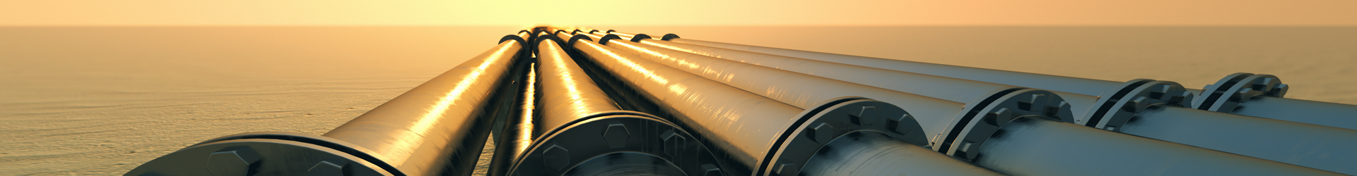 Pipeline at sunset.  ©Shutterstock.com/DabartiCGI