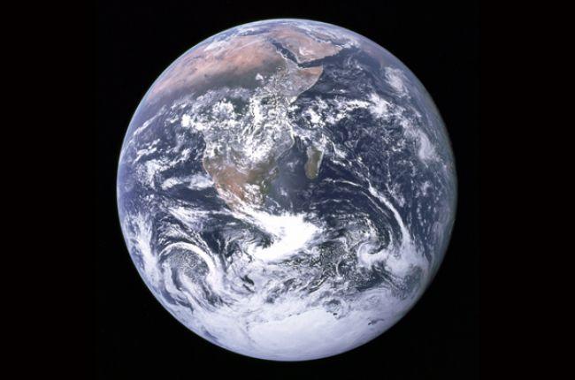 A Satellite Image of the World. Image Credit: NASA