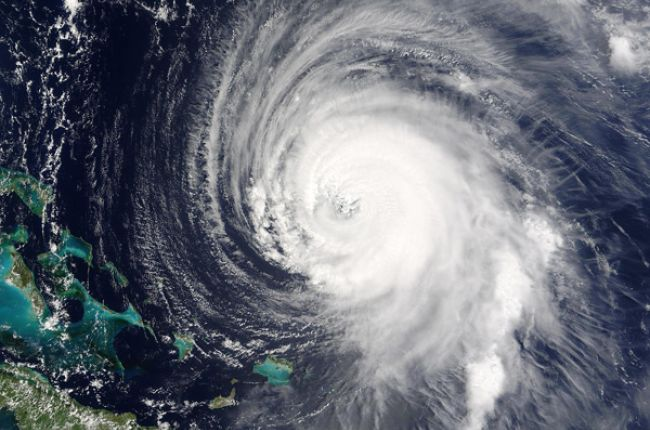 Satellite image of Hurricane Isabel.  Image Credit: Jacques Descloitres, NASA