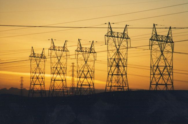 Power lines. Image Credit: U.S. Department of Energy