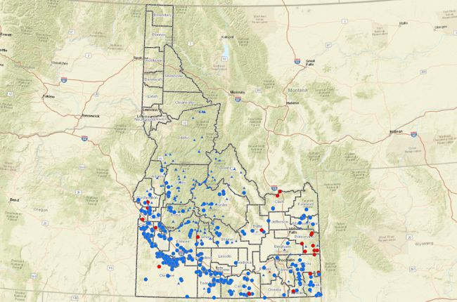 Interactive map of geothermal wells and springs in Idaho | American on hot springs wa, hot springs in alaska, hot springs near boise idaho, hot springs park, hot springs asheville nc, hot springs southern california, hot springs lowman idaho, hot springs northern idaho, hot springs canada, hot springs in tennessee, hot springs mccall idaho, hot springs tower, hot springs in wyoming, hot springs buhl idaho, hot springs near atlanta, hot springs west virginia,
