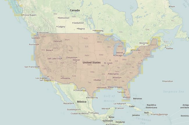 Interactive database for topographic maps of the United ...