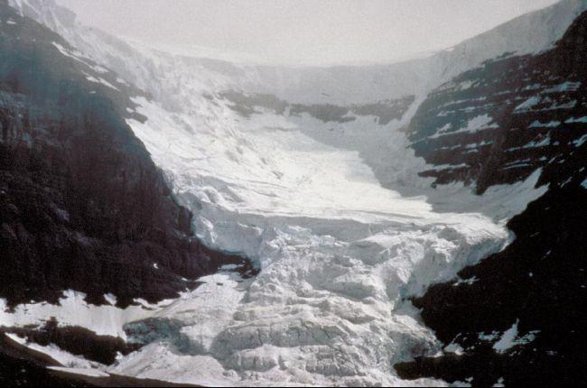 Glacier in Alberta Canada.