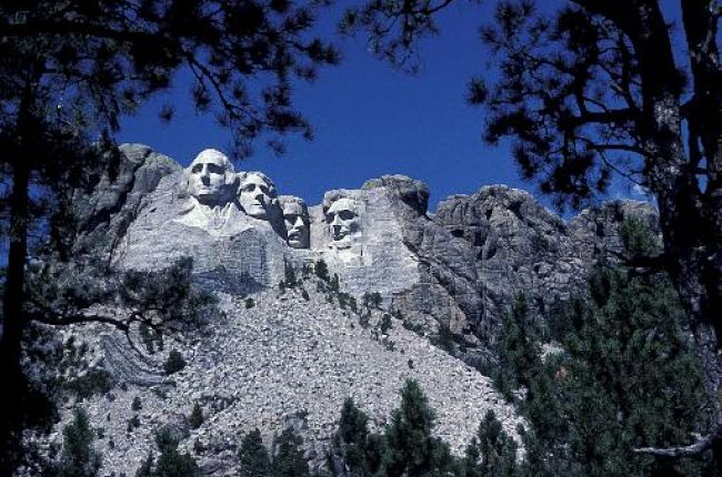 Precambrian granite of Mt. Rushmore, South Dakota