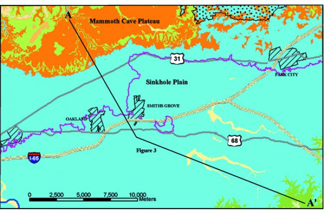 Case study Geologic maps and cave resources in Kentucky