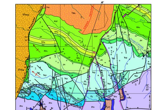 Using geologic maps to find groundwater in New Mexico American