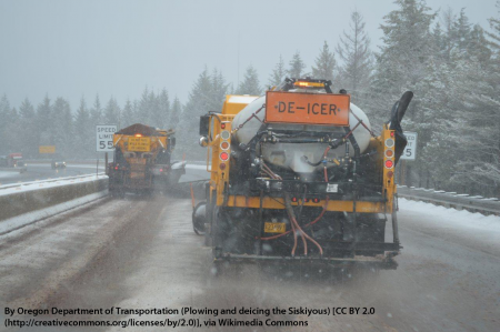 Plowing and deicing the Siskyous (road)