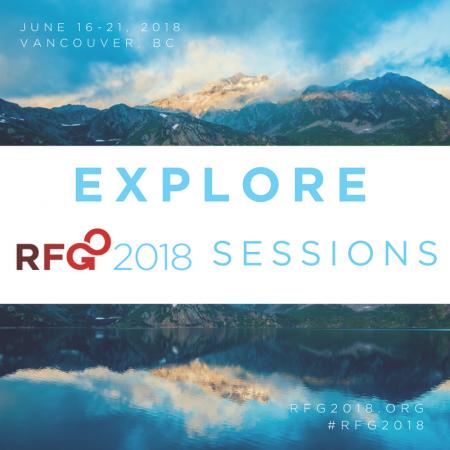 RFG 2018 sessions