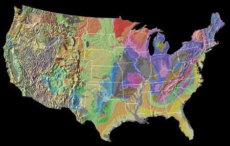 Geologic Map of the USA