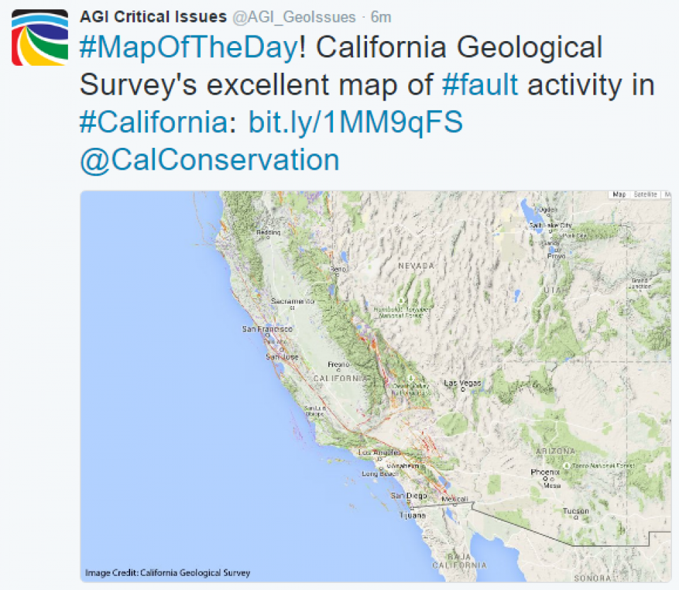 Critical Issues: Map of the Day - Fault Activity in California ... on california agriculture map, california earthquake map, northern california map, california disaster map, california volcano map, california geothermal gradient map, california tectonic map, california landslide map, california crack map, california regions, california mineral resources map, california love map, california bedrock map, california seismic zone 4, california geology map, california magma map, california faultlines map printable, california aquatic supply, naws china lake base map, california state map pdf,
