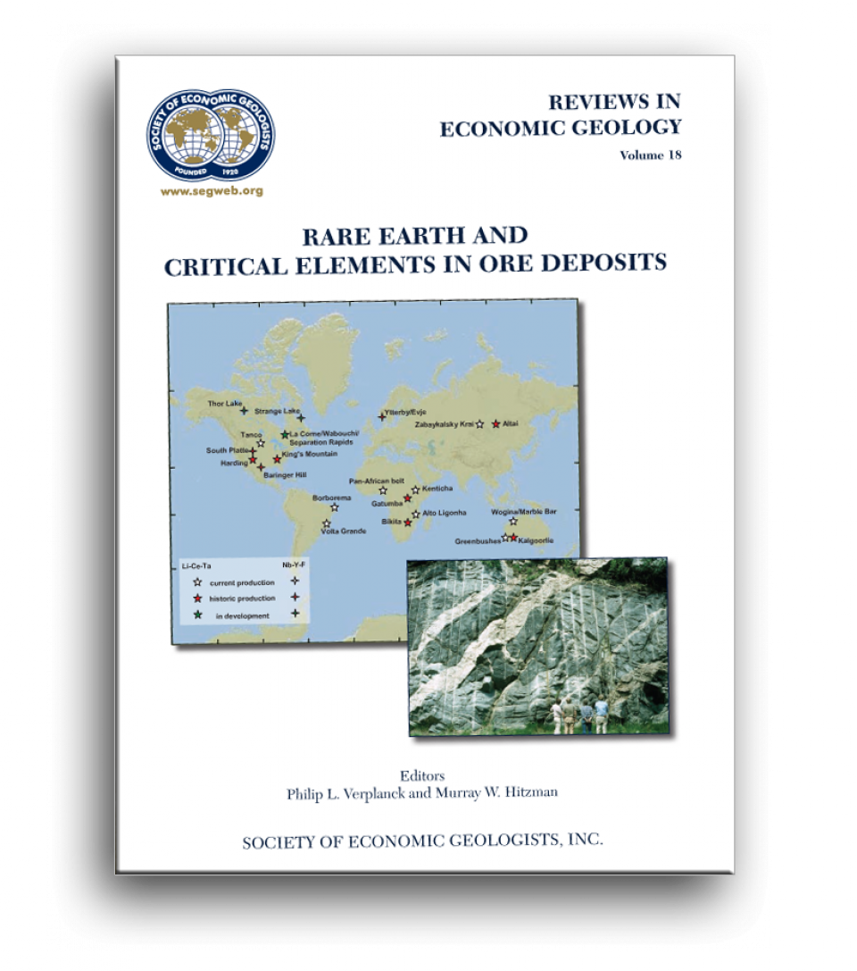 Seg rare earth and critical elements in ore deposits american cover of seg reviews in economic geology vol 18 gumiabroncs Images