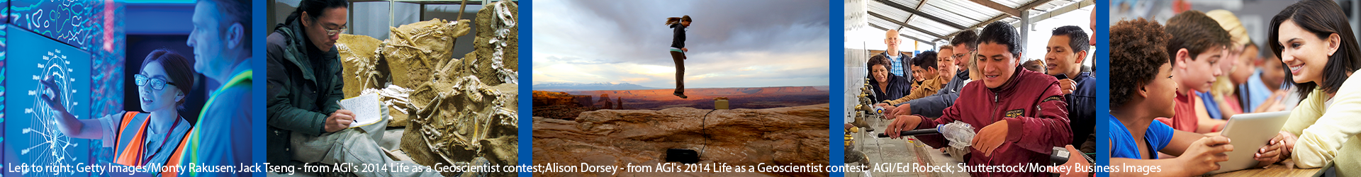 AGI supports teaching, training and professional geoscience activities.