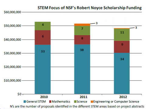 STEM Focus of Noyce Scholars