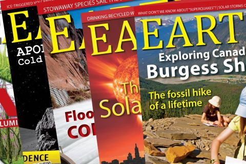 EARTH magazine covers