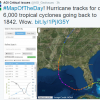 Screenshot of interactive map of historical hurricane tracks. Image Credit: National Oceanic and Atmospheric Administration