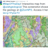 Screenshot of interactive map of Utah geology. Image Credit: Utah Geological Survey
