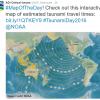 #MapOfTheDay! Check out this interactive map of estimated tsunami travel times: bit.ly/1QTKEY9 #TsunamiDay2016 @NOAA
