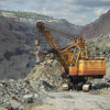Excavator mining