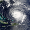 NASA hurricane satellite image