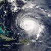 NASA hurricane satellite image