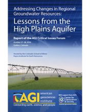 Cover for 2016 AGI Critical Issues Forum Report