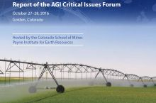 Cropped cover of the 2016 Critical Issues Forum Report