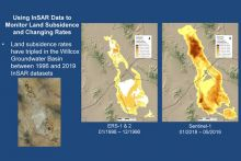 cover image for AGI Webinar on Mapping Displacement and Subsidence (Image courtesy B. Conway/ADWR)